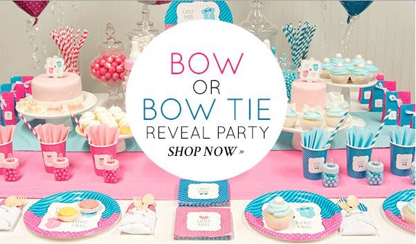 Baby Shower Ideas For Gender Reveal ~ Ad roll out the big baby reveal with celebrate express
