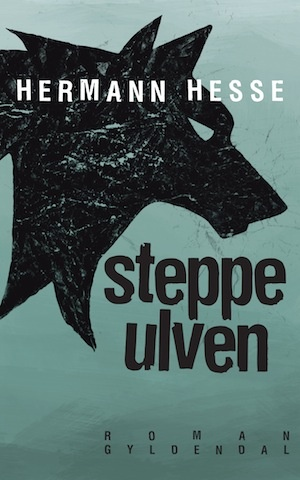 "Cover of Danish edition of Herman Hesse's ""Steppenwulfe""."