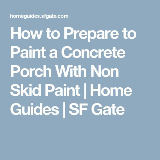 Best 25 Painting Concrete Porch Ideas On Pinterest