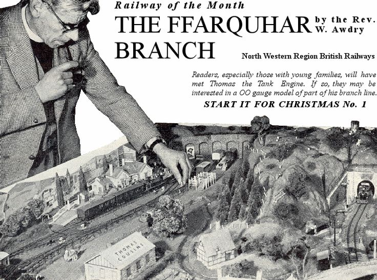 The FFARQUHAR BRANCH - Railway Modeller December, 1959