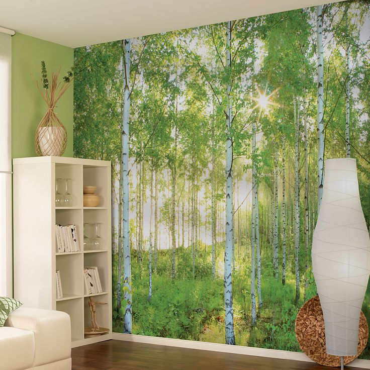 Brewster Home Fashions Komar Sunday 8-Panel Wall Mural