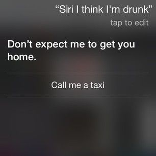 And that moment she said exactly what was up: | 21 Questions Siri Answered Absolutely Perfectly