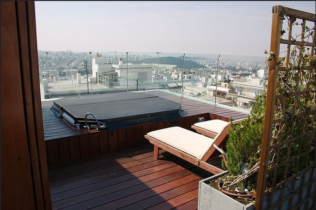 Periscope Hotel's exclusive terrace is ideal for your honeymoon special moments. Check it out!  #Athens #view #periscope #honeymoon