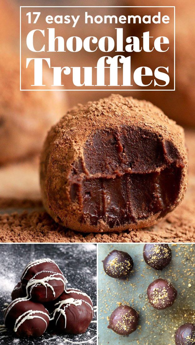 17 Super Delicious Homemade Chocolate Truffles                                                                                                                                                                                 More