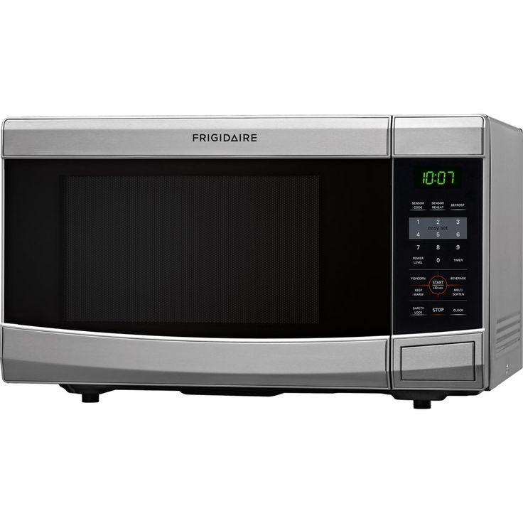 Frigidaire Countertop Microwave Lowes : Shop Frigidaire 1.1-cu ft 1100-Watt Countertop Microwave (Stainless ...