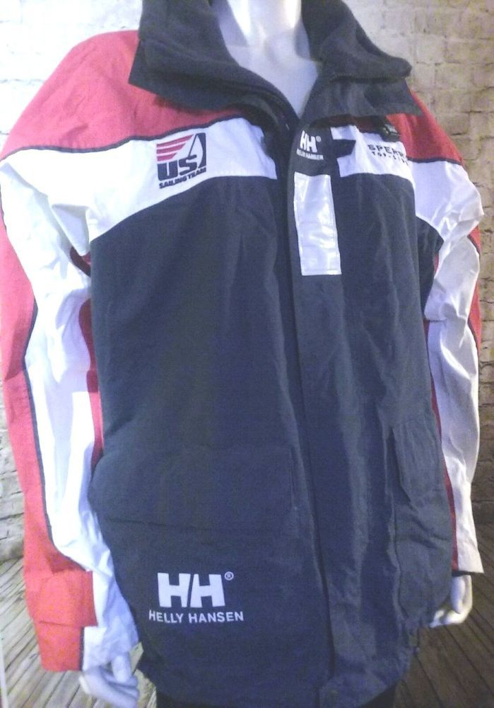 Helly Hansen SP Men's Offshore Race Sailing Olympic Sailing Team Member Jacket  #HellyHansen