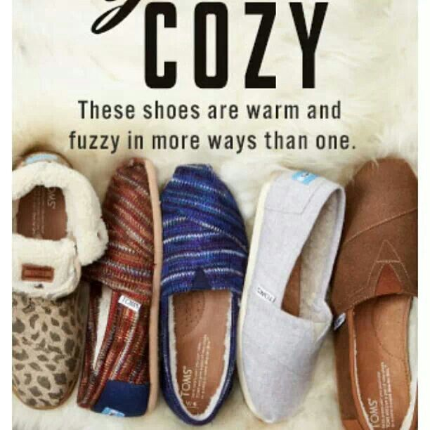 Cozy Winter Toms!