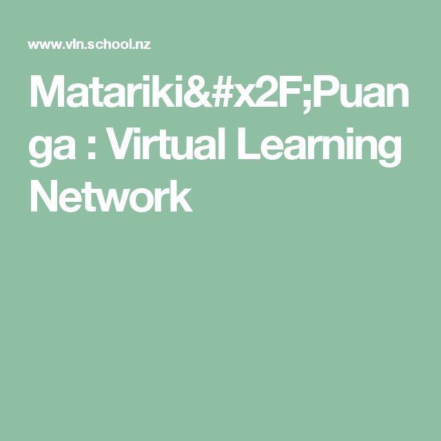Matariki/Puanga : Virtual Learning Network
