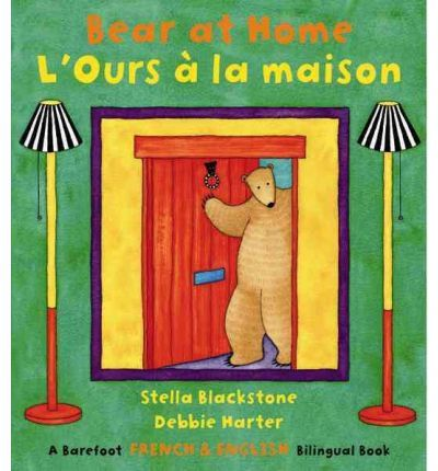 Bear at Home: Bilingual French (Paperback)
