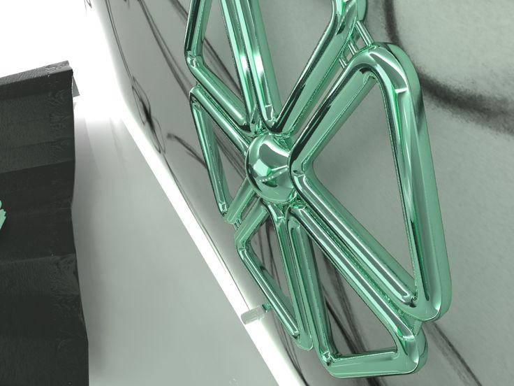 Radiator FlowerModule detail