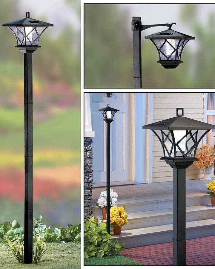 Vandue Solar Powered Led Street Lamp Post Solar Lamp Post Solar Lights Garden Solar Lamp