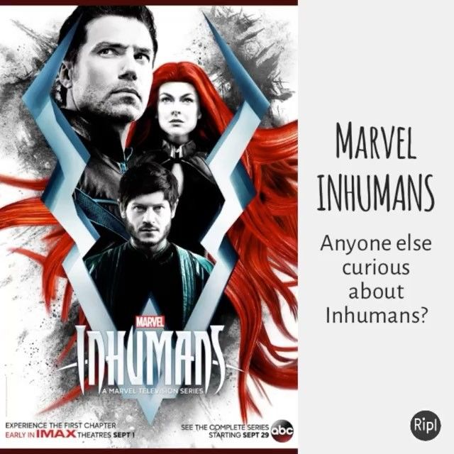 Anyone interested in #marvel #inhumans? Which will get an #IMAX release and then air on #abc ? Let us know what you think. #geekculture #comic #comics #marvelcomics #tv #television #abctv #disney  https://constantcollectible.com/