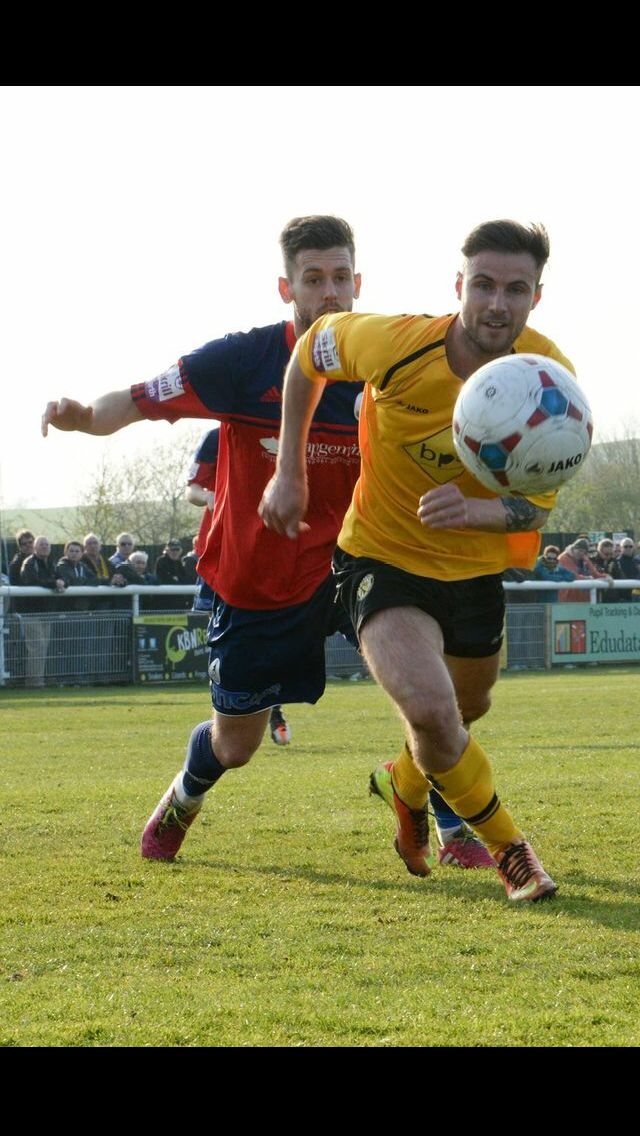 Leamington fc in action