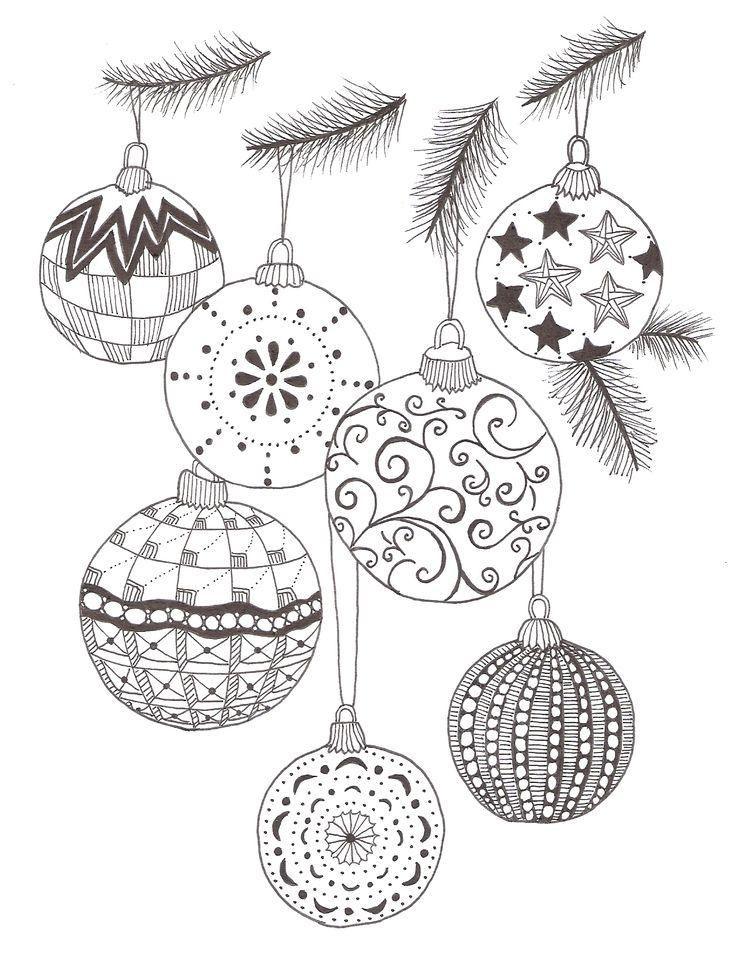 bolas de navidad, ramas arbol de navidad