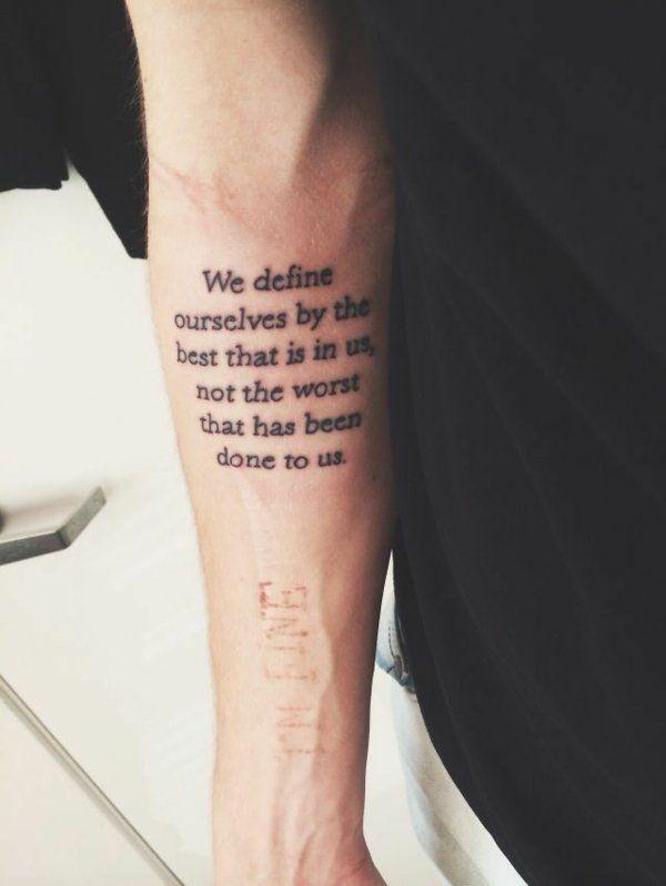 25+ trendige Tattoo unterarm schrift Ideen auf Pinterest