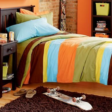 Would match the green & orange R wants in his room!