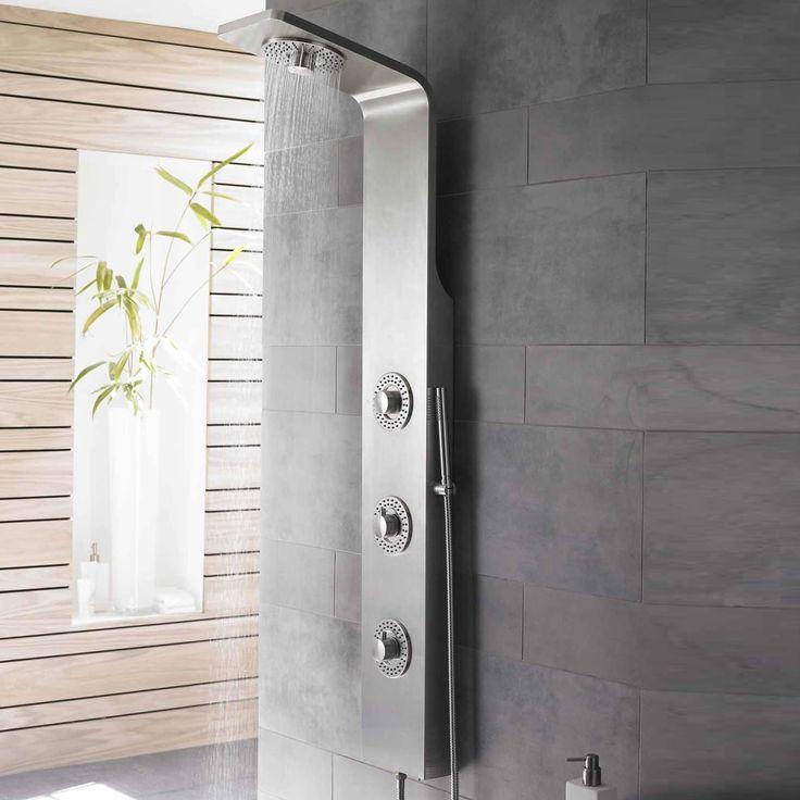 Best 25+ Shower panels and columns ideas on Pinterest | Faux rock ...