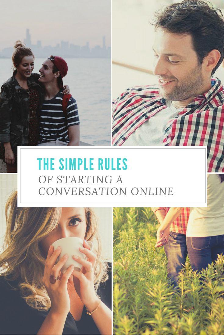 Best online dating starting message