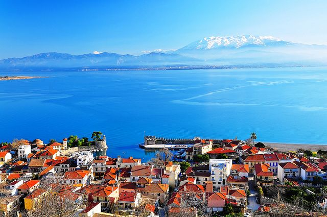 GREECE CHANNEL | Nafpaktos (Panoramic view) by Spiros Vathis, via Flickr
