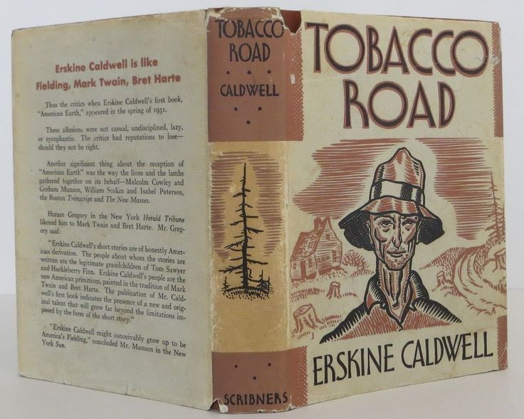 #91 Tobacco Road by Erskine Caldwell. It's said you can't write about characters you hate, yet Caldwell clearly loathes the Lesters, a dysfunctional family of failed Georgian cotton farmers at the centre of this mean-spirited book. In fact, he appears to detest everyone in the novel; drawing an ensemble of physically grotesque, morally bankrupt, mindless, inarticulate, human caricatures & piles failure after failure upon their disfigured heads. He concludes by burning the main character to…