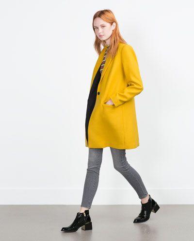 Manteau masculin, Zara