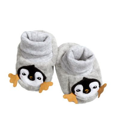 baby H&M - cute little penguin slippers! $7