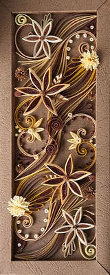 Quilling is such a gorgeous and unique form of art! From nelika-neli.blogspot.com