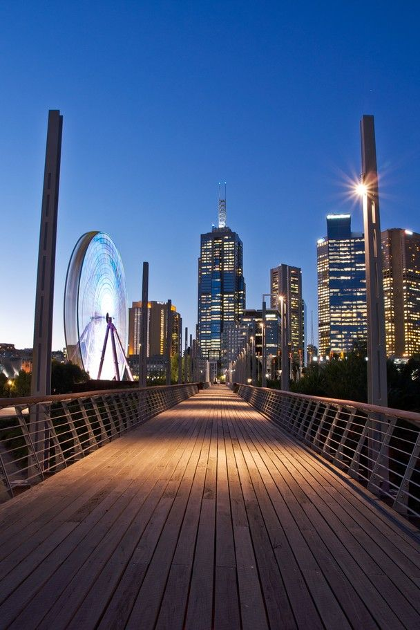 Skyline of Melbourne, Australia #travel