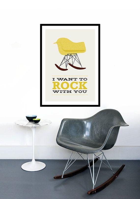 25+ best ideas about chaise bascule on pinterest | chaises à ... - Chaise A Bascule Eames 2