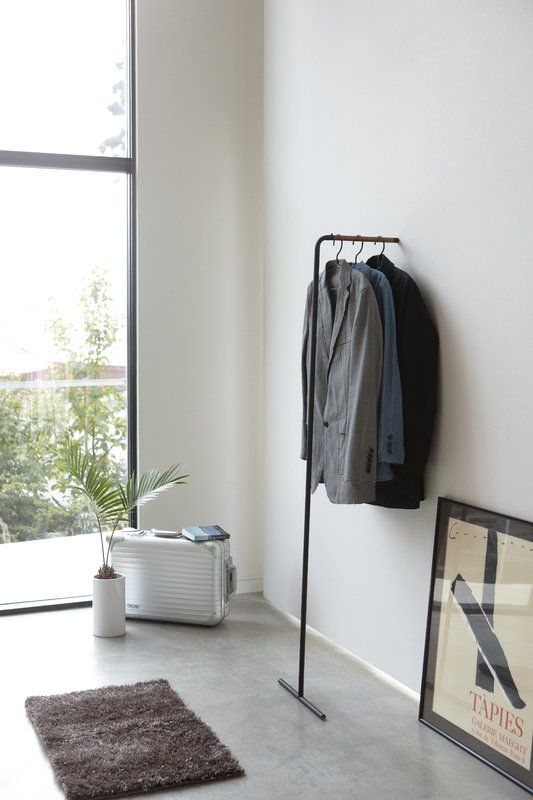 Tower Leaning Slim Hanger Coat Stand