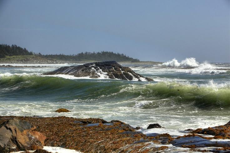 Tor Bay Beach, Guysborough County, Nova Scotia (after a storm).