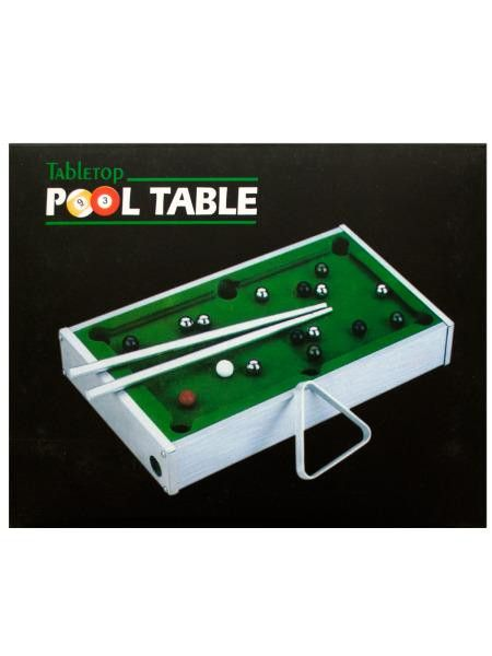 Mini Tabletop Pool Table (Available in a pack of 1)