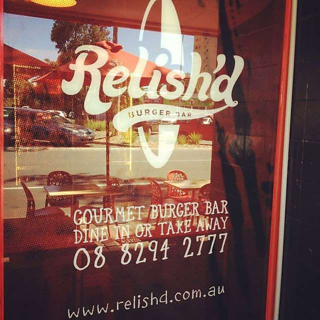 Relish'd Burger Bar - the BEST #burgers in #Glenelg!