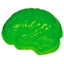 a zombie brain jelly mould. for when you're peckish.