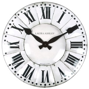 French Tower Wall Clock from Laura Ashley