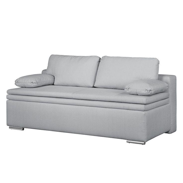 boxspring schlafsofa goodlow strukturstoff platin fredriks mbel wohnzimmer sofas - Wohn Essbereich Ikea