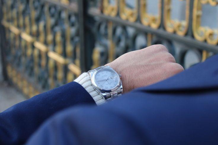 Suit / Traje - Primark Watch / Reloj - Rolex Oyster Perpetual  #Spain #Madrid #Primark #Rolex #menswear