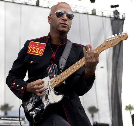 playing a telecaster | Tom Morello - Rage Against the Machine