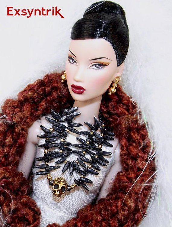 "Double Metal Bracelets for 12/"" Poppy Parker /& Fashion Royalty Dolls"