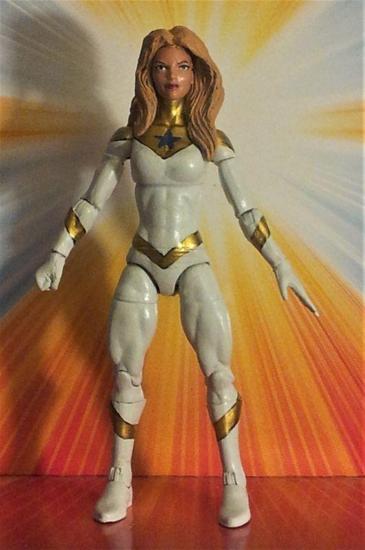 GOLDSTAR Michelle Carter Booster Gold's sister (DC Universe) Custom Action Figure