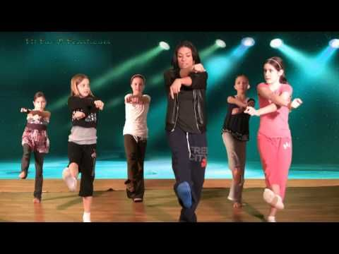 Hip Hop Dance Lesson with Caroline - This step contains a body roll.- Kids Dance Steps