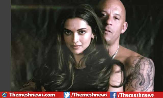 Famous Bollywood actressDeepika Padukonemade her entry in Hollywood by making first movie named xXx: The Return of Xander Cage along with fast and Furious star 'VIN Diesel' first look of that project released.