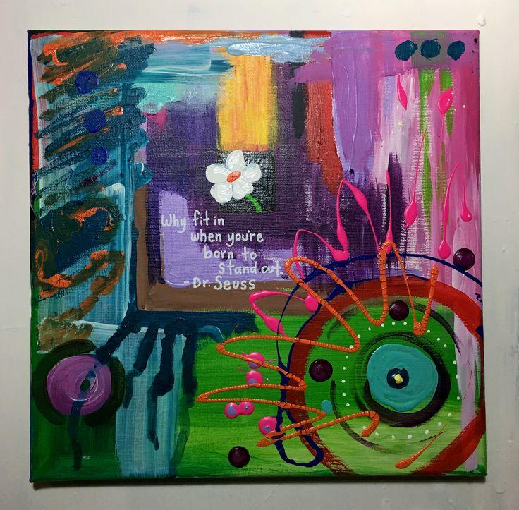 Dr Seuss Quotes Love Quotes On Canvas Original Painting 11x14: Best 25+ Cute Little Quotes Ideas On Pinterest