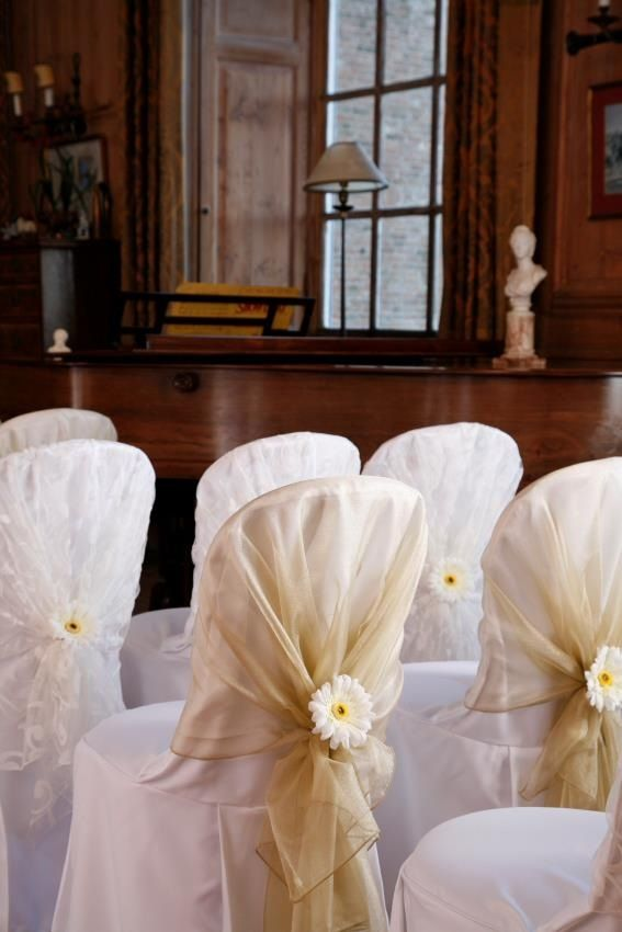 Chair covers tale of two wedding coordination sans the white chair