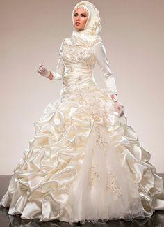 Свадебный хиджаб и мусульманские невесты