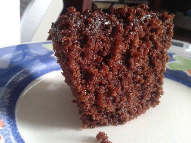 Cupcake de chocolate - Sem leite/lactose e sem glúten