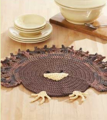 Free Knitting Pattern Turkey Dishcloth : 1000+ images about Free Thanksgiving Crochet/Knit Patterns on Pinterest Pot...