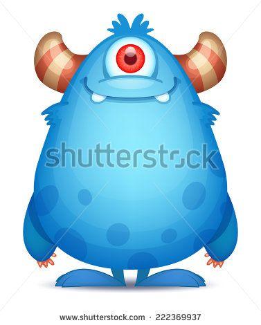 Cute Cartoon Monster                                                                                                                                                                                 More