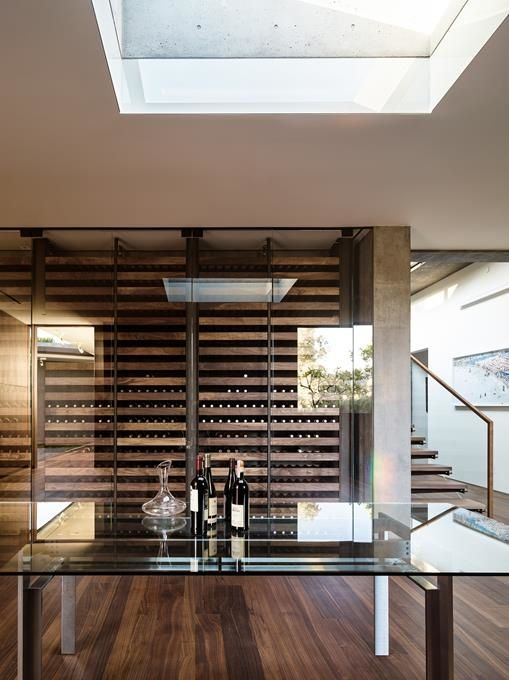 Interior Detail Of The Oak Pass House In Beverly Hills, California, USA By  Walker Workshop Idea