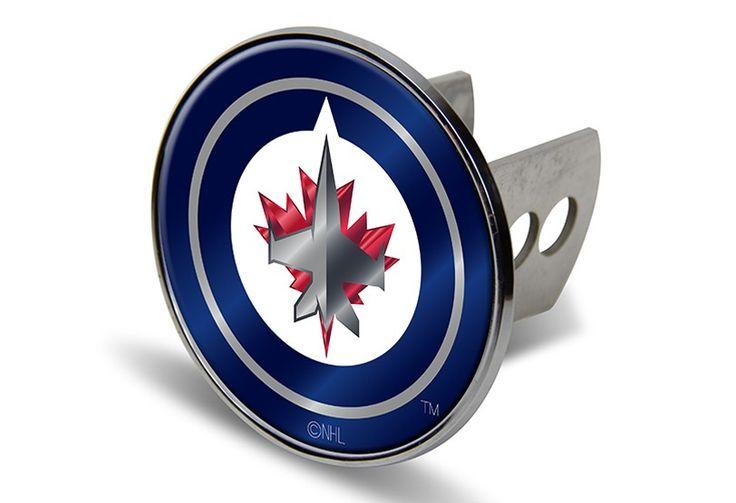 Winnipeg Jets NHL Laser-etched Trailer Hitch Cover